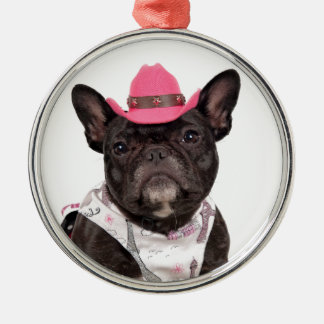 The Frenchie Christmas Ornament