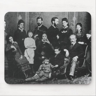 The Freud Family, c.1876 Mouse Mat