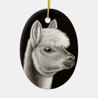 The Friendly Alpaca Ornament