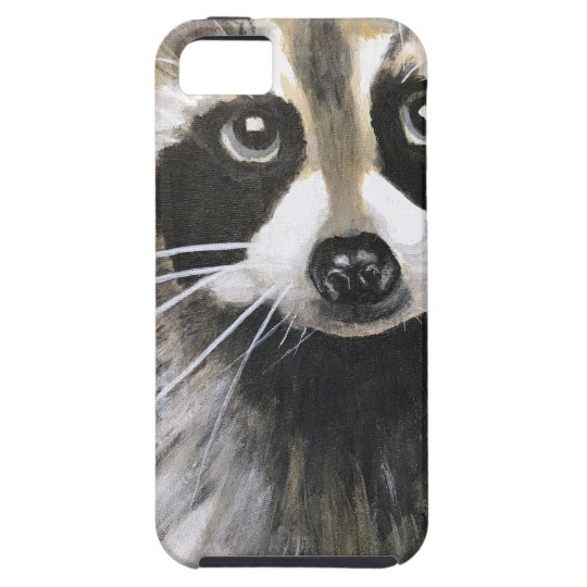 The Friendly Racoon iPhone 5 Cover