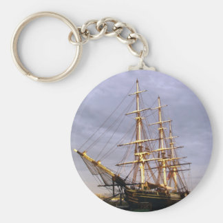 The Friendship of Salem Basic Round Button Key Ring