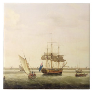 The Frigate 'Surprise' at Anchor off Great Yarmout Tile