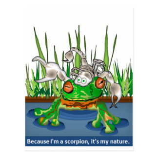 The Frog and Scorpion Post Cards