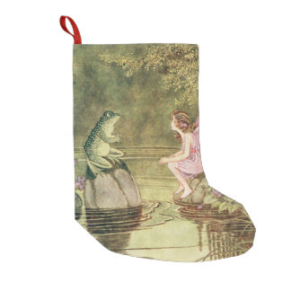 The Frog and the Fairy Small Christmas Stocking