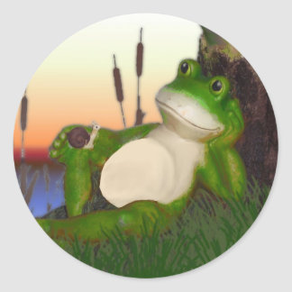 The Frog and the Snail Stickers