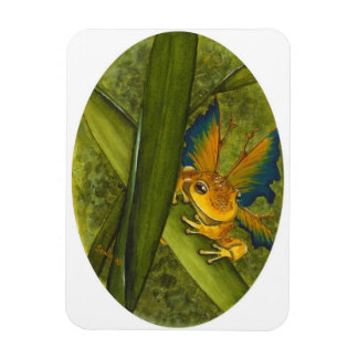 The Frog Faery Premium Magnet