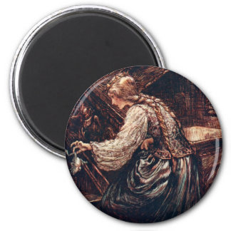 The Frog Prince 6 Cm Round Magnet