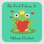 The Frog Prince Bookplate Stickers