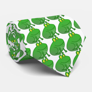 The Frog Prince green Tie