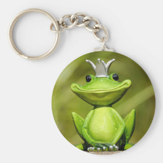The Frog Prince Key Ring