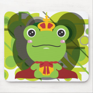 The frog which did not fit a prince mouse pads
