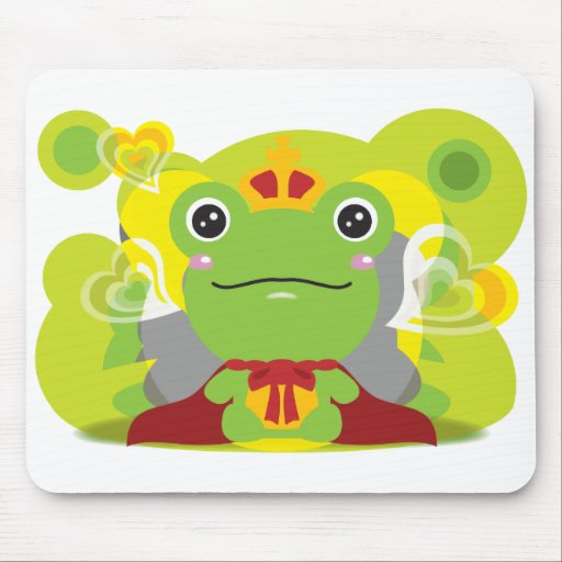The frog which did not fit a prince mouse mat