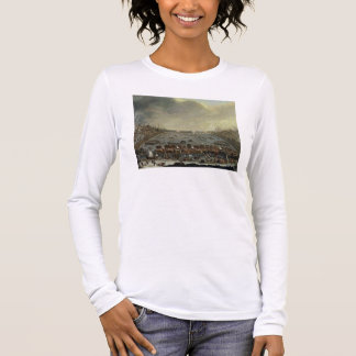 The Frost Fair of the winter of 1683-4 on the Tham Long Sleeve T-Shirt
