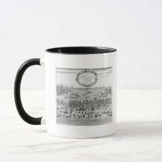 The Frost Fair of the winter of Thames Mug
