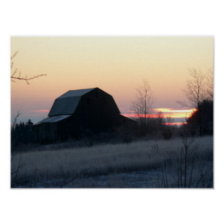 the frosty barn poster