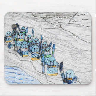 """""""The Frozen March"""" Mouse Pad"""