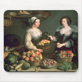 The Fruit and Vegetable Seller Mouse Mat