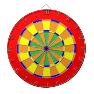 The Fruit Basket Dart Board