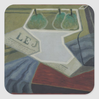 The Fruit Bowl, 1925-27 Square Sticker