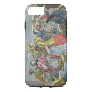 The Fruit Market (coloured engraving) iPhone 8/7 Case