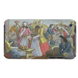 The Fruit Market (coloured engraving) iPod Touch Case