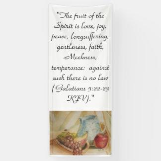 The fruit of the Spirit Banner