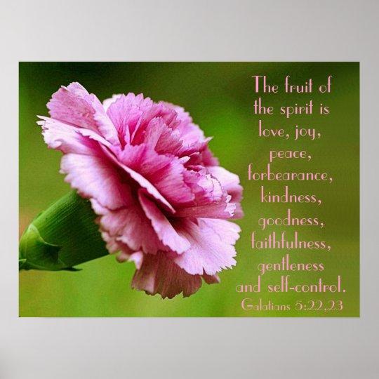 The fruit of the spirit bible verse reminder