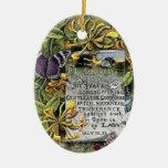 The Fruit Of The Spirit Ceramic Oval Decoration