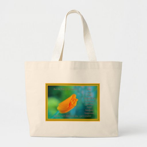 The Fruit of the Spirit is Love.... Tote Bags