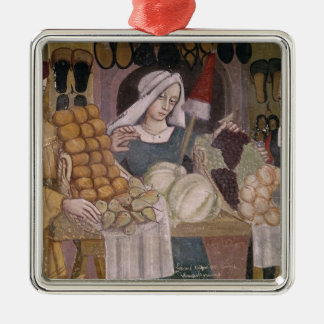 The Fruit Sellers' Stand Christmas Ornament