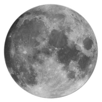 The Full Moon Dinner Plates