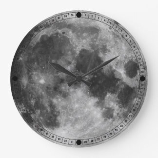 The Full Moon Wall Clock