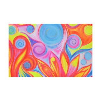 The Fun of Freedom Canvas Print