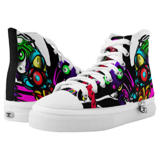 The Fun Patrol Printed Shoes