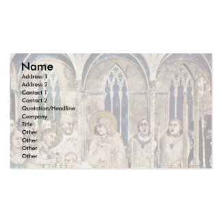 The Funeral Of St. Martin By Martini Simone Business Cards
