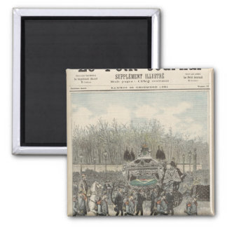 The Funeral of the Emperor of Brazil Magnet