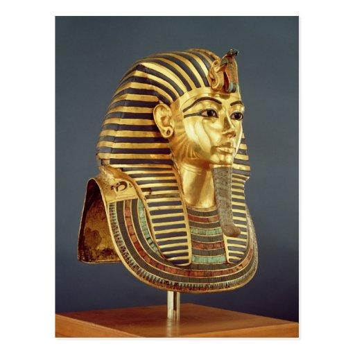 The funerary mask of Tutankhamun Postcards