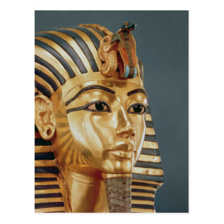 The funerary mask of Tutankhamun Postcard