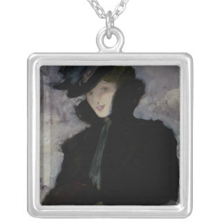 The Fur Coat Silver Plated Necklace