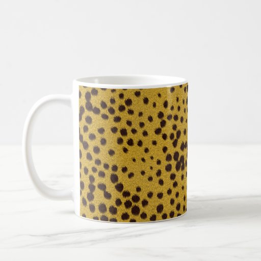 The fur collection - Cheetah Fur Coffee Mugs