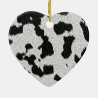 The fur collection - Dalmatian Fur Christmas Tree Ornament