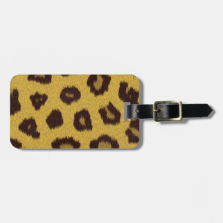 The fur collection - Leopard Luggage Tag