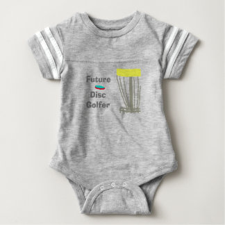 The future disc golfer baby onsie tshirts