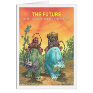 The Future Greeting Card