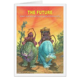 The Future Greeting Card