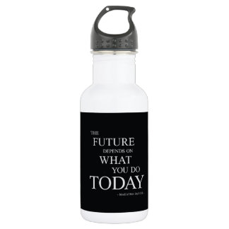 The Future Inspirational Motivational Quote 532 Ml Water Bottle