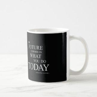 The Future Inspirational Motivational Quote Coffee Mug