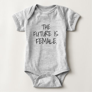 The Future is Female Baby Bodysuit