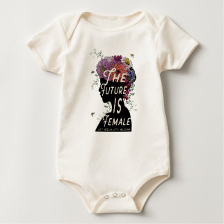The Future Is Female - Organic Baby Bodysuit