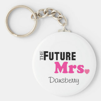 The Future Mrs. Custom Keychain